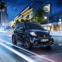 Mercedes-Benz acoge en la familia EQ a los smart EQ fortwo y forfour edition nightsky