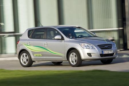 Kia Cee'd Hybrid Concept, otro compacto híbrido a la vista