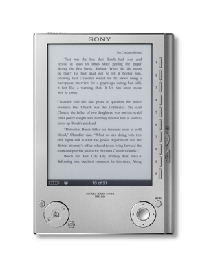 Sony PRS-505, nuevo modelo del lector de e-books