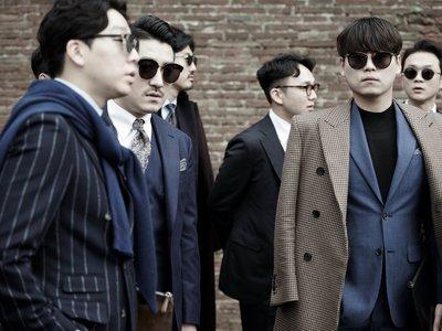 Comienza el Pitti Uomo y los hombres de Italia nos muestran cómo vestir la tendencia layered de invierno