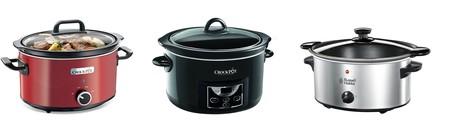 3 ollas de cocción lenta de oferta en Amazon de marcas como Crock Pot y Russel Hobbs