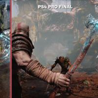 God of War: el tráiler del E3 2016 frente a la versión final en PS4 Pro