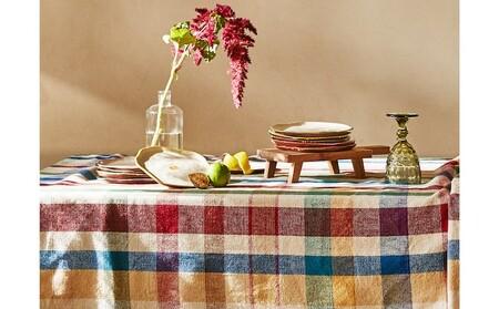 A la mesa con Zara Home y con sus manteles y vajillas más artesanales y naturales