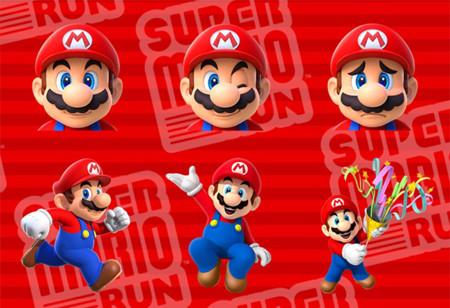 Si ya actualizaste a iOS 10 ya puedes descargar los Stickers de Super Mario Run