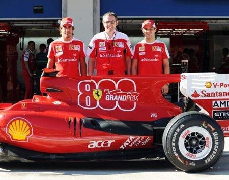 Ferrari celebrá sus 800 grandes premios en la Fórmula 1