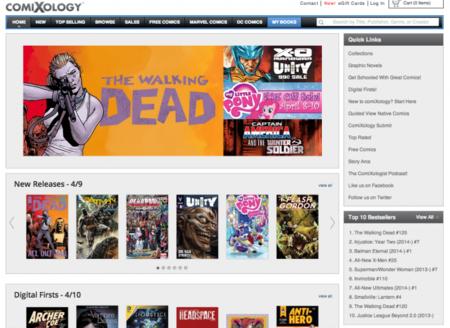 Amazon compra la tienda digital de comics Comixology