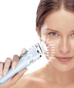 El cepillo eléctrico VisaPure Deep Pore de Philips, elimina células muertas y relaja