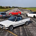 La Familia Monster de los BMW M3 son estos cuatro prototipos que seguramente ni conocías
