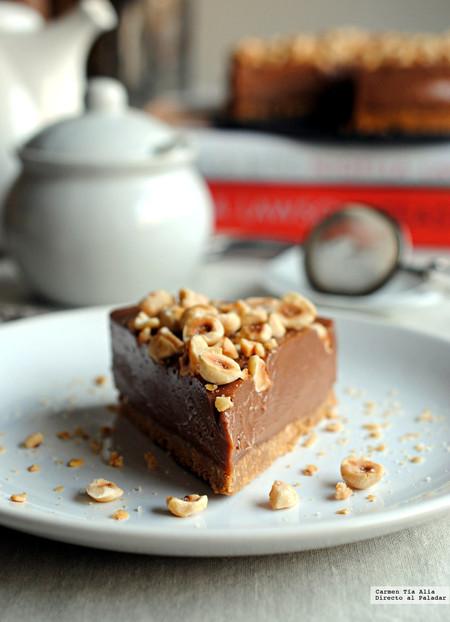 Cheesecake De Nutella Sin Horno