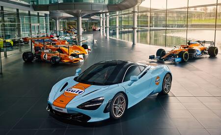 McLaren 720S Gulf Special Edition