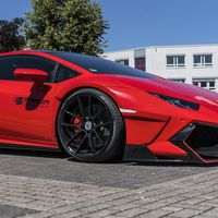 El Lamborghini Huracán con el widebody kit de Prior Design se ve impresionante