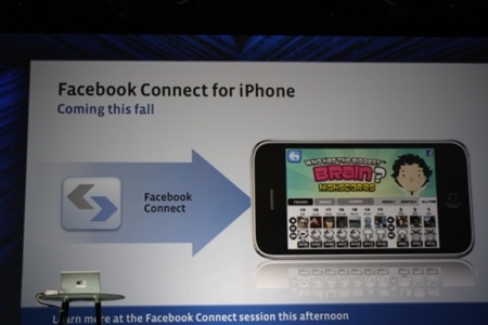 Facebook lanzará un SDK para el iPhone