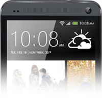 HTC One en color negro