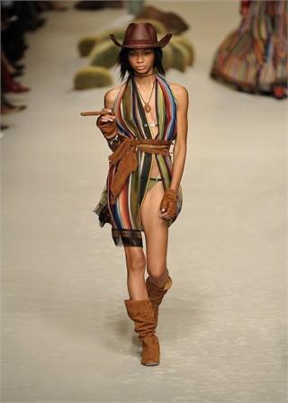 Hermès en la Semana de la Moda de Paris Primavera-Verano 2009