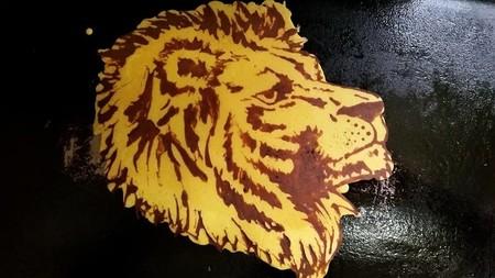 El plato para el rey de la selva