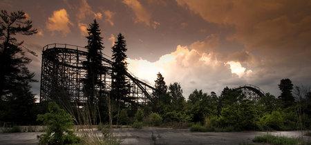 'Abandoned: Hauntingly Beautiful Deserted Theme Parks' de Seph Lawless, los parques de atracciones también pueden dar miedo