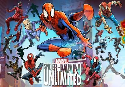 Gameloft y Marvel presentan Spider-Man Unlimited, el primer runner de telarañas
