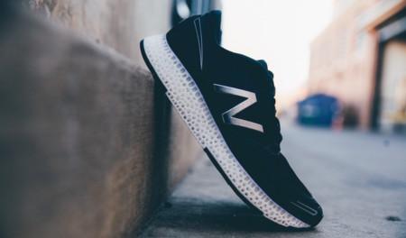 New Balance es la primera que va a vender una zapatilla deportiva con elementos impresos en 3D
