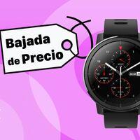 Este smartwatch con GPS de Amazfit cuesta cuatro veces menos que un Apple Watch y su batería dura el doble: llévatelo por 57 euros