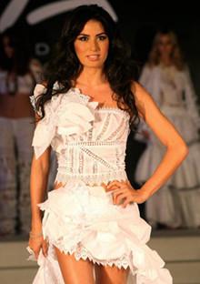 La señora Briatore, Elisabetta Gregoraci, desfilará en Ibiza