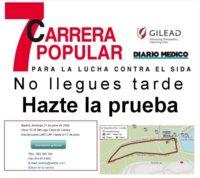 Carrera Popular para la lucha contra el Sida en Madrid