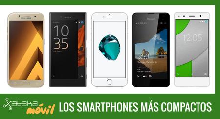 Los mejores móviles compactos o con pantalla menor de cinco pulgadas