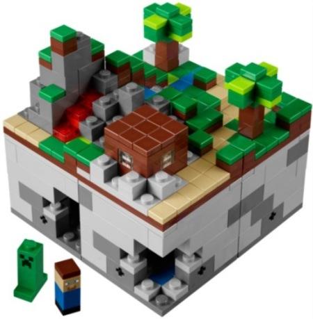 Minecraft se pasa a Lego