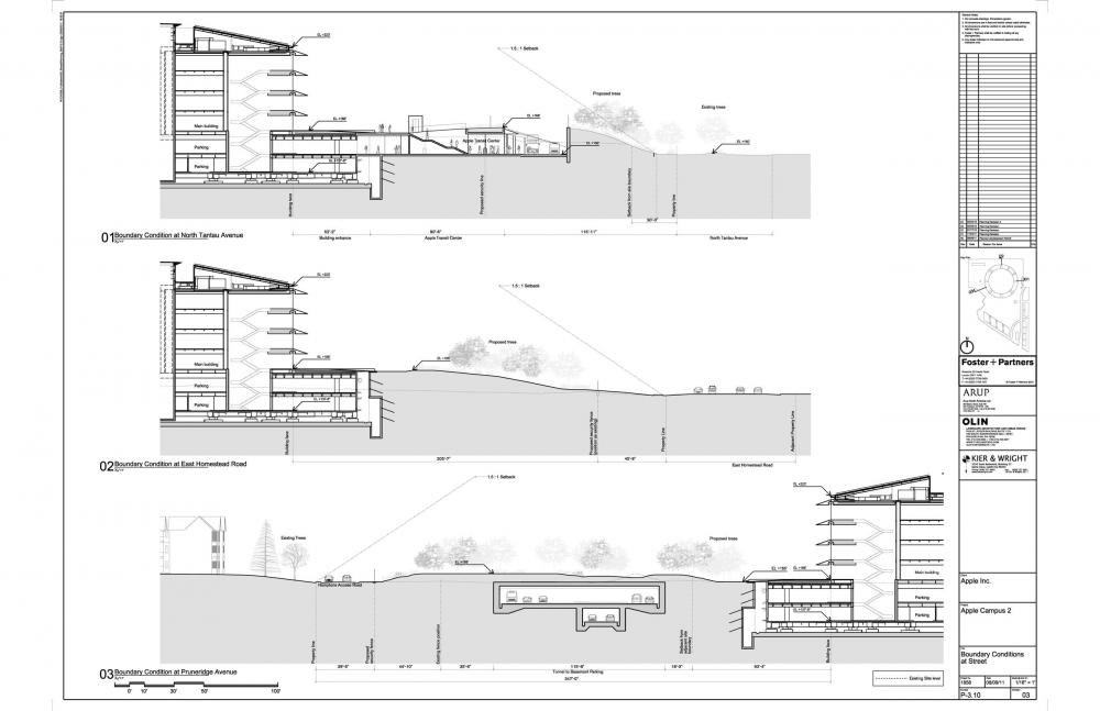 Foto de Proyecto original del nuevo campus de Apple (23/27)
