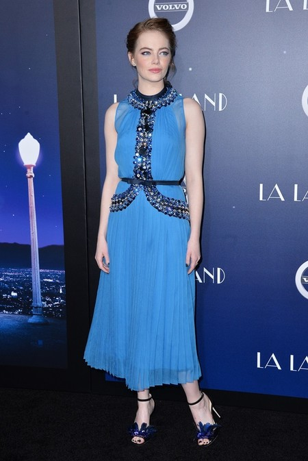 Emma Stone de Prada