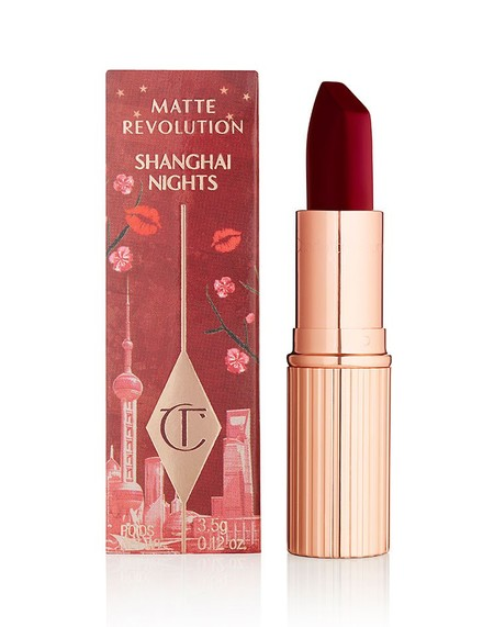 Charlotte Tilbury Cities Lipsticks Shanghai Nights Packaging