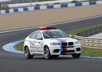 BMW X6 M, coche de seguridad en MotoGP