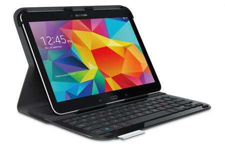 Logitech Keyboard Folio llega al Galaxy Tab 4 10.1