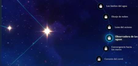 Constelaciones de Kokomi