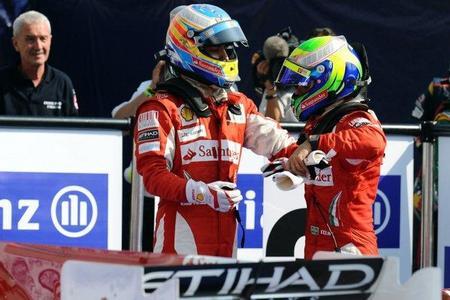 Felipe Massa agradece el apoyo de de Ferrari