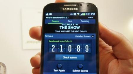 Galaxy S4 Antutu