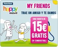 Happy móvil también estrena programa de captación de clientes