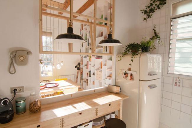Un cl sico piso del eixample de barcelona transformado en for Decoracion piso eixample