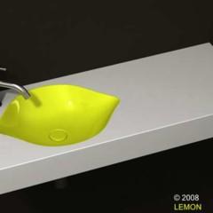 Foto 3 de 5 de la galería lavabo-con-forma-de-limon en Decoesfera