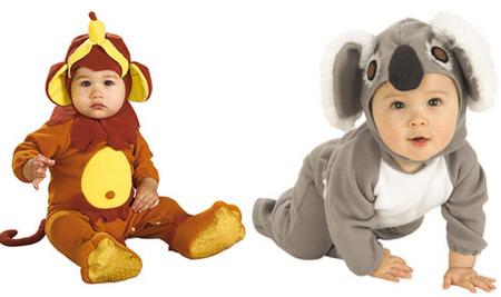 en barullo company encontraris varios modelos de disfraces para bebs pero los que seguro gustarn son estos dos que he elegido para ensearos el de mono