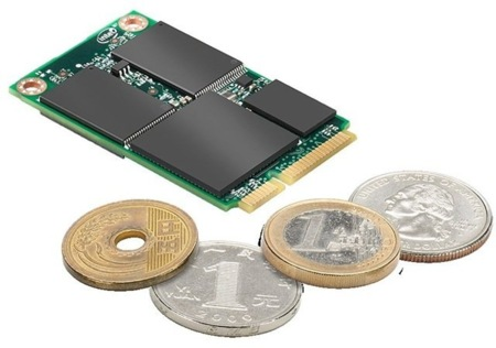Intel SSD 313, mSATA de pequeña capacidad