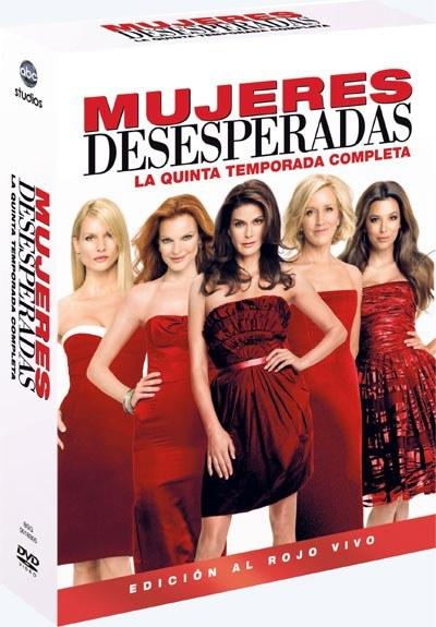DVD de Mujeres Desesperadas