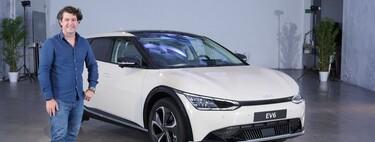 Primer contacto con el KIA EV6: un coche eléctrico de primer nivel con hasta 585 CV