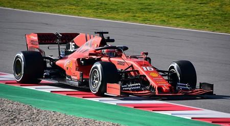 Leclerc Ferrari F1 2019