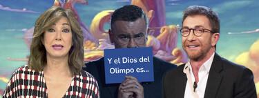 El ranking definitivo de los presentadores mejor pagados: Este es el dineral que cobran Pablo Motos, Ana Rosa Quintana y Jorge Javier Vázquez (entre otros)