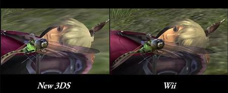 Video comparativo de Xenoblade Chronicles 3D