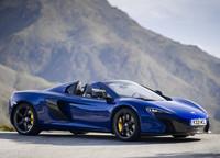 McLaren 650S Spider, ahora azul