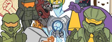 Halo Infinite es una auténtica mina de oro de memes: un datamining descubre toda clase de bromas en sus emblemas ocultos