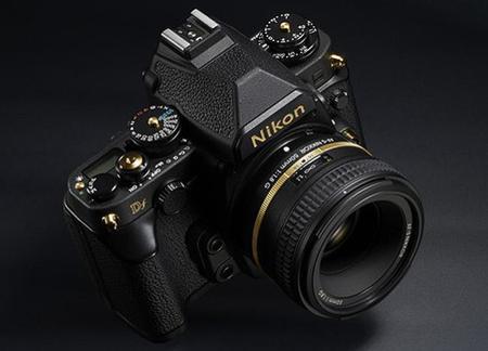 Si te gusta la Df de Nikon y te va lo exclusivo, echa un vistazo a la nueva Df Gold Edition