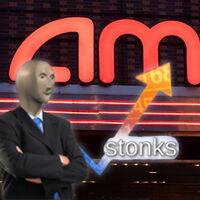 Stonks otra vez: AMC, una inversión-meme, es ya una de las empresas más capitalizadas del mundo