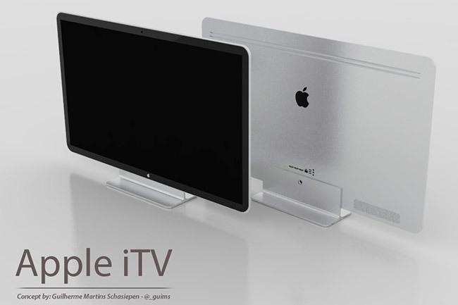 Imagen conceptual del Apple iTV